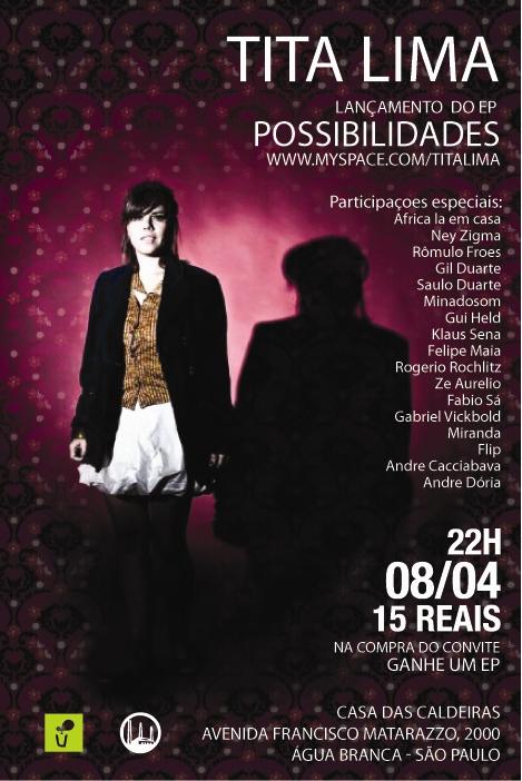 "Tita Lima lanca EP ""Possibilidades"""